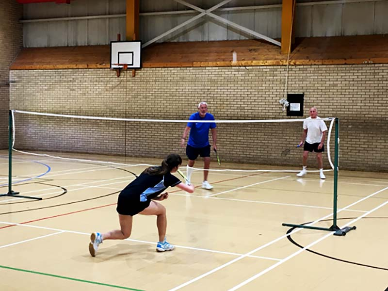 Play Badminton at Active Life Coxhoe