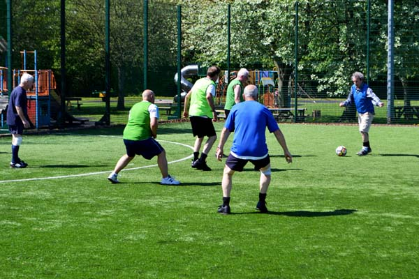 Walking Football at Active Life Coxhoe